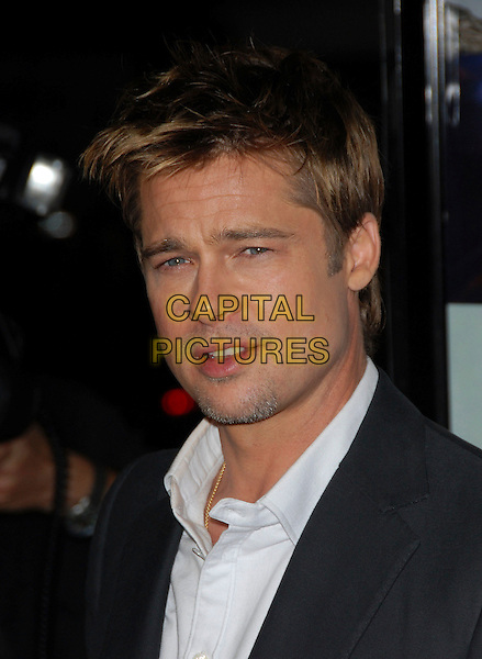 BRAD PITT.Attends AFI Film Fest and Paramount Vantage Screening of Babel held at The Mann's Village Theatre in Westwood, California, USA, November 05 2006..portrait headshot.Ref: DVS.www.capitalpictures.com.sales@capitalpictures.com.©Debbie VanStory/Capital Pictures