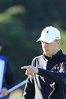 Jordan Spieth (USA) on the 1st green during Thursday's Round 1 of the 2018 AT&amp;T Pebble Beach Pro-Am, held over 3 courses Pebble Beach, Spyglass Hill and Monterey, California, USA. 8th February 2018.<br /> Picture: Eoin Clarke | Golffile<br /> <br /> <br /> All photos usage must carry mandatory copyright credit (&copy; Golffile | Eoin Clarke)