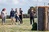 FEI World Eventing Champion, Rosalind Canter (GBR), walks the course for the CCI4*-L. 2019 NZL-Puhinui International Three Day Event. Puhinui Reserve. Auckland. Friday 6 December. Copyright Photo: Libby Law Photography