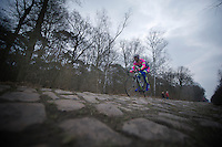 Paris-Roubaix 2013 RECON..training in the Trouée d'Arenberg..