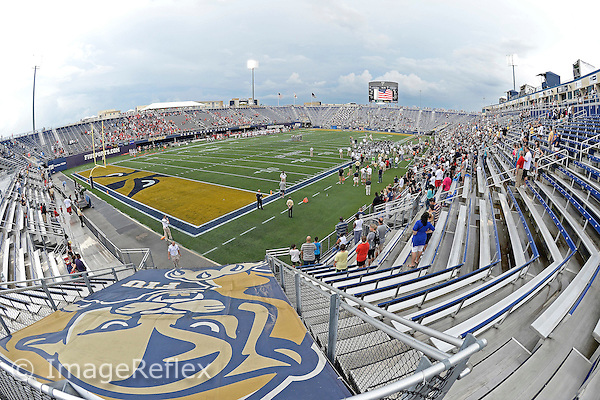 20 September 2014:  FIU's stadium prior to the game.  The University of Louisville Cardinals defeated the FIU Golden Panthers, 34-3, at FIU Stadium in Miami, Florida.
