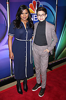 NEW YORK, NY - MARCH 8: Mindy Kaling and J.J. Totah at the 2018 NBC NY Midseason Press Junket at the Four Seasons Hotel in New York City on March 8, 2018. <br /> CAP/MPI/DIE<br /> &copy;DIE/MPI/Capital Pictures