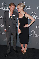 New York, NY - June 10 : Jean-Pascal Perret and Taylor Schilling attend the OMEGA Speedmaster Dark Side<br /> of the Moon Launch Event held at Cedar Lake on June 10, 2014 in<br /> New York City. Photo by Brent N. Clarke / Starlitepics