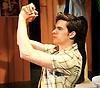 Payback - The Musical <br /> by Paul Rayfield<br /> at Riverside Studios, London, Great Britain <br /> press photocall <br /> 13th June 2013 <br /> <br /> Katie Bernstein as Isabel<br /> Sarah Earnshaw as Sam<br /> Adam Flynn as Joe<br /> Matthew White as Matt Matthews<br /> James Yeoburn as Guilherme<br /> Holly Brennan as Verity<br /> Georgie Freeman as Melanie<br /> Chris Kiely as Steve<br /> Douglas Rutter as Harry <br /> Roger Woods as John <br /> Annalene Beechey as Sarah <br /> Felicity McCormack as Chanel<br /> Mr &amp; Mrs Beechey - Phil &amp; Betty <br /> Steven O'Neill as Minister<br /> <br /> Photograph by Elliott Franks