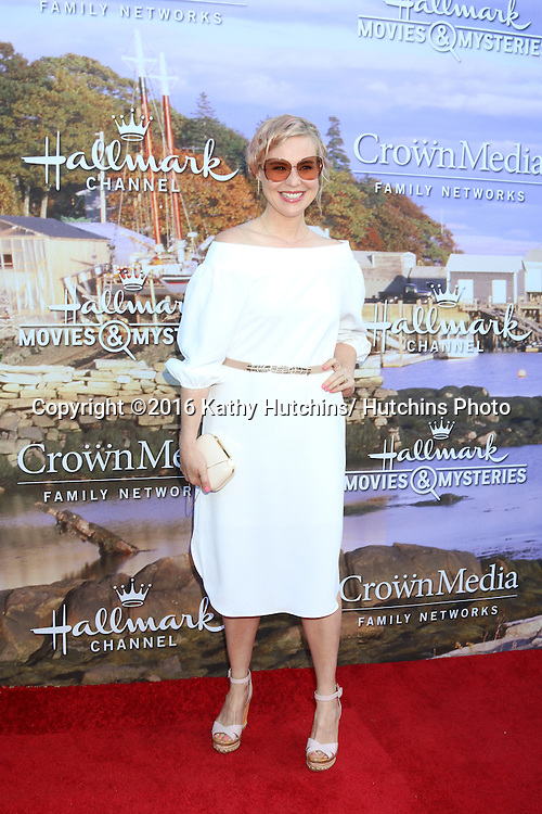LOS ANGELES - JUL 27:  Kristin Booth at the Hallmark Summer 2016 TCA Press Tour Event at the Private Estate on July 27, 2016 in Beverly Hills, CA