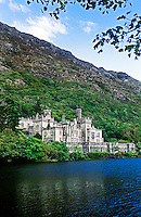Kylemore Abbey, located in the Kylemore Pass in Connemara, County Galway, has been home to the Irish Benedictine nuns since 1920. Ireland