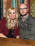 Stephen and Fiona O'Reilly enjoying the New year weekend in The Weavers. Photo:Colin Bell/pressphotos.ie