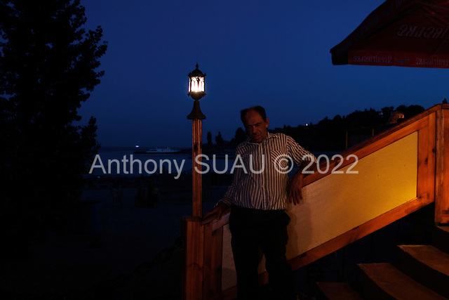 Odessa, Ukraine<br /> August 27, 2005 <br /> <br /> Odessa's &quot;Arcadia&quot; beach at night life.