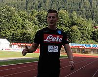 Arkadiusz Milik durante il  ritiro precampionato del SSC Napoli a Dimaro<br />  05 Luglio  2017