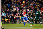 Atletico de Madrid's Saúl Ñígez and Real Betis's Ryan Donk during La Liga match between Atletico de Madrid and Real Betis at Vicente Calderon Stadium in Madrid, Spain. January 14, 2017. (ALTERPHOTOS/BorjaB.Hojas)