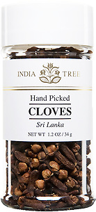 30915 Whole Cloves, Small Jar 1.2 oz, India Tree Storefront