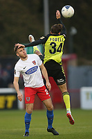 Ben House of Dagenham and Redbridge and Jack Powell of Aldershot Town during Dagenham & Redbridge vs Aldershot Town, Vanarama National League Football at the Chigwell Construction Stadium on 16th November 2019