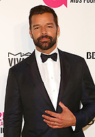Ricky Martin arrives at the 2018 Elton John AIDS Foundation Oscar Viewing Party on Sunday, March 4, 2018, in West Hollywood, Calif. (Photo by Willy Sanjuan/Invision/AP)