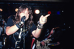 SAVATAGE - Jon Oliva, Criss Oliva performing live June 1985 ,