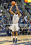 March 3, 2012:   Nevada Wolf Packs Deonte Burton shoots a jump shot against the Louisiana Tech Bulldogs during their NCAA basketball game played at Lawlor Events Center on Saturday night in Reno, Nevada.
