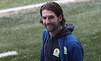 Blackburn Rovers' Charlie Mulgrew arrives at the ground<br /> <br /> Photographer Rachel Holborn/CameraSport<br /> <br /> The EFL Sky Bet League One - Blackburn Rovers v Oldham Athletic - Saturday 10th February 2018 - Ewood Park - Blackburn<br /> <br /> World Copyright &copy; 2018 CameraSport. All rights reserved. 43 Linden Ave. Countesthorpe. Leicester. England. LE8 5PG - Tel: +44 (0) 116 277 4147 - admin@camerasport.com - www.camerasport.com