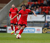 Leyton Orient's Josh Koroma in action during the Sky Bet League 2 match between Leyton Orient and Grimsby Town at the Matchroom Stadium, London, England on 11 March 2017. Photo by Carlton Myrie / PRiME Media Images.