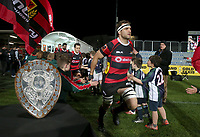Action from the Mitre 10 Cup Premiership and Ranfurly Shield match between Canterbury and Counties Manukau at AMI Stadium in Christchurch, New Zealand on Wednesday, 13 September 2017. Photo: Martin Hunter / lintottphoto.co.nz