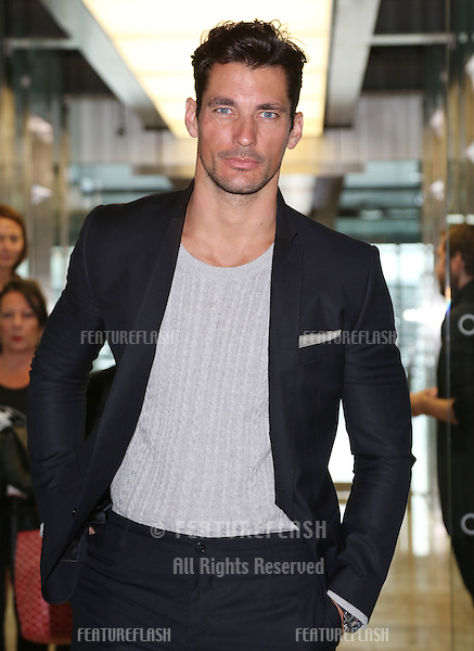 David Gandy at the Matthew Williamson catwalk show as part of London Fashion Week SS13, Canon House, London.16/09/2012 Picture by: Henry harris / Featureflash