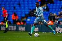 4th January 2020; St Andrews, Birmingham, Midlands, England; English FA Cup Football, Birmingham City versus Blackburn Rovers; Amari'i Bell of Blackburn Rovers brings the ball into midfield - Strictly Editorial Use Only. No use with unauthorized audio, video, data, fixture lists, club/league logos or 'live' services. Online in-match use limited to 120 images, no video emulation. No use in betting, games or single club/league/player publications