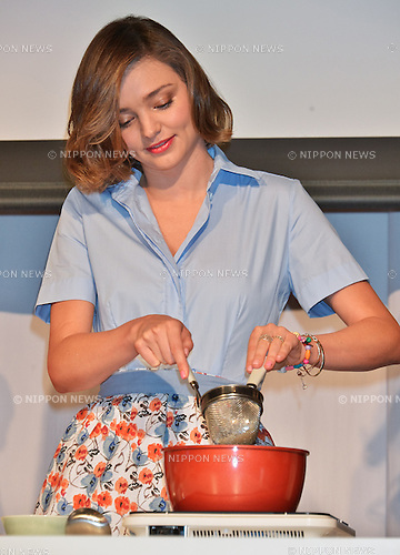 Miranda Kerr, June 20, 2016, Tokyo, Japan : Model Miranda Kerr attends an event for Japanese fermented foods company, Marukome Co., Ltd. at the Shangri-La Hotel in Tokyo, Japan on June 20, 2016.