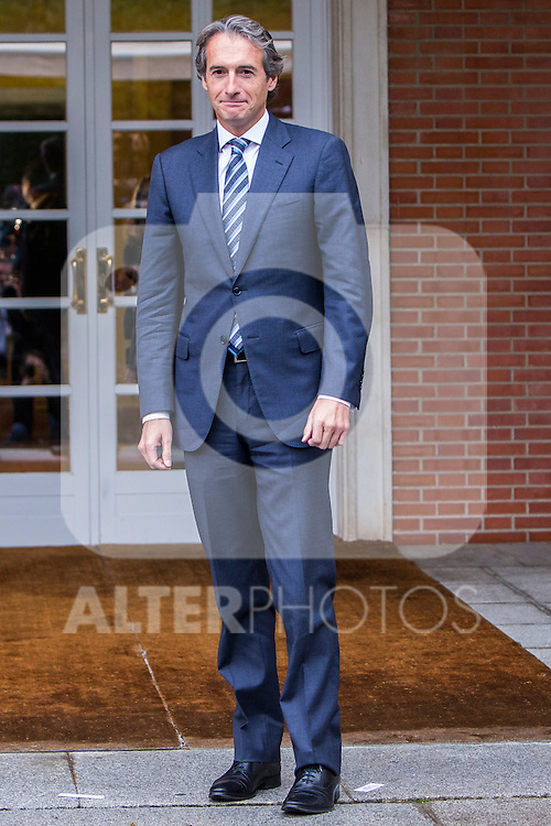 Spanish Minister of Public Works Inigo de la Serna during the prensentation of Rajoy's New Government at Moncloa Palace in  Madrid, Spain. November 04, 2016. (ALTERPHOTOS/Rodrigo Jimenez)