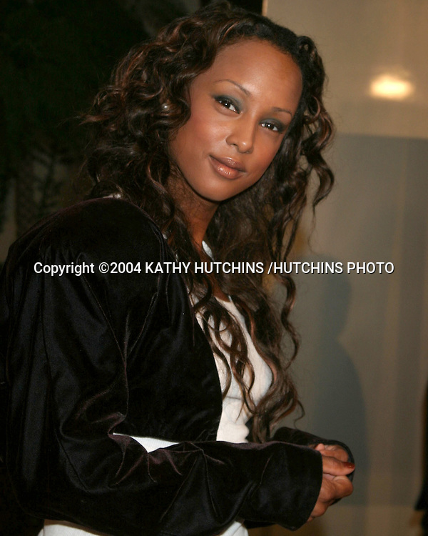 "©2004 KATHY HUTCHINS /HUTCHINS PHOTO.WORLD PREMIERE OF ""RAY"".HOLLYWOOD, CA.OCTOBER 19, 2004..TRINIA MC GEE"