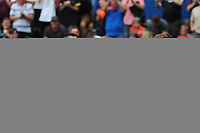 Mike van der Hoorn of Swansea City celebrates scoring his side's second goal during the Sky Bet Championship match between Swansea City and Hull City at the Liberty Stadium in Swansea, Wales, UK. Saturday 03 August 2019