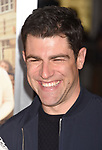 HOLLYWOOD, CA - FEBRUARY 13: Actor Max Greenfield attends the premiere of Warner Bros. Pictures' 'Fist Fight' at the Regency Village Theatre on February 13, 2017 in Westwood, California.