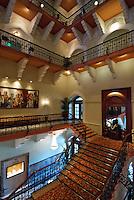 Inside the historic and famous Taj Hotel, Mumbai former Bombay, India
