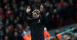 Jurgen Klopp manager of Liverpool during the English Premier League match at Anfield Stadium, Liverpool. Picture date: December 31st, 2016. Photo credit should read: Lynne Cameron/Sportimage