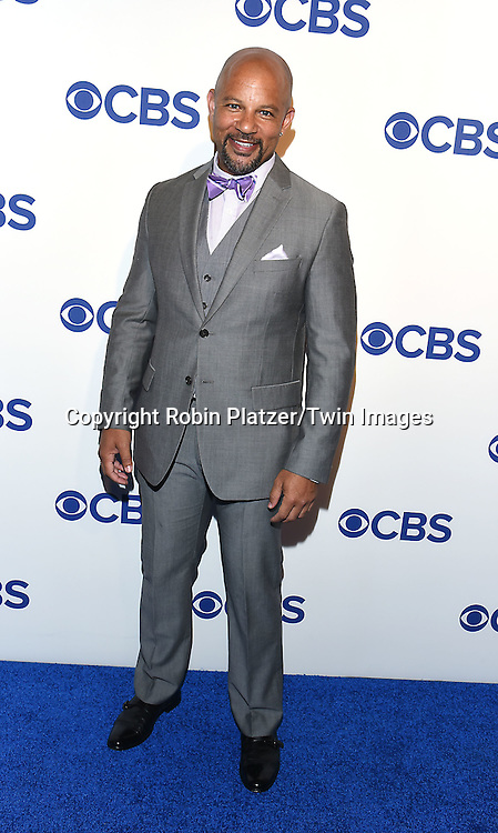 Chris Williams attends the CBS Upfront 2016-2017 on May 18, 2016 at the Oak Room at the Plaza Hotel in New Yorik, New York, USA.<br /> <br /> photo by Robin Platzer/Twin Images<br />  <br /> phone number 212-935-0770