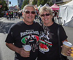 Jim & Rose Nobili from Reddig attend the 35th Annual Eldorado Great Italian Festival held in downtown Reno on Saturday, October 8, 2016.