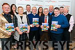 O'Callaghan's Coach Holidays hosted the launch of their 2018 brochure at their office in Killarney last Thursday. Pictured are l-r: Jack Patrick Healy, Catherine Kelly, Deirdre O'Sullivan Darcy, Philip O'Callaghan, Jimmy O'Callaghan, Catriona Kennedy