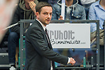 10.03.2018, RASTA Dome 2.0, VECHTA, GER, Beko BBL ProA, RASTA Vechta vs Phoenix Hagen, im Bild<br /> <br /> <br /> Kevin Magdowski (Phoenix Hagen #Headcoach)<br /> nachdenklich<br />  Gestik, Mimik,<br /> Foto &copy; nordphoto / Kokenge