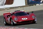 Jules Moritz III races his 1970 Lola T-70 GT at the 32nd Rolex Monterey Historic Automobile Races, 2005