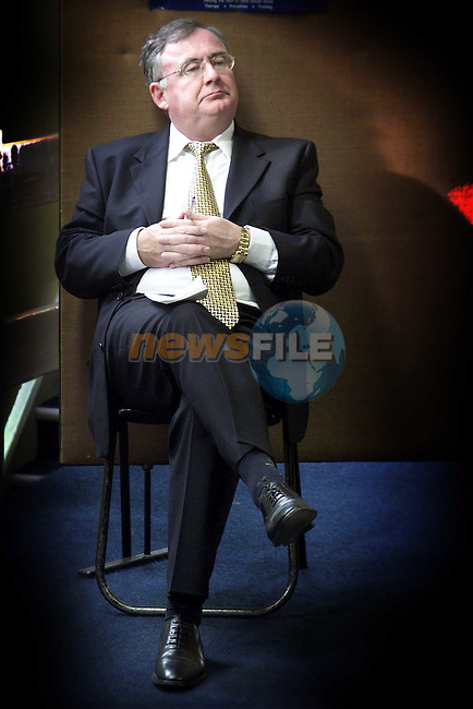 Pat Rabbitt at the Labour Party meeting in Connolly Hall..Picture: Paul Mohan/Newsfile