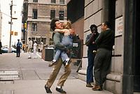Kramer vs. Kramer (1979) <br /> Dustin Hoffman &amp; Justin Henry<br /> *Filmstill - Editorial Use Only*<br /> CAP/MFS<br /> Image supplied by Capital Pictures