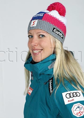 16.10.2010  Winter sports OSV Einkleidung Innsbruck Austria. Snowboarding OSV Austrian Ski Federation. Picture shows Marion Kreiner AUT