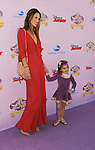"""BURBANK, CA - NOVEMBER 10: Alessandra Ambrosio and daughter Anja Louise Ambrosio Mazur arrive at the Disney Channel's Premiere Party For """"Sofia The First: Once Upon A Princess"""" at the Walt Disney Studios on November 10, 2012 in Burbank, California."""