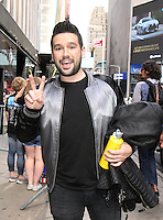 NEW YORK, NY-August 08: Shay Mooney of Dan & Shay  perform at Good Morning America in New York. NY August 08, 2016. Credit:RW/MediaPunch
