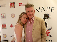 Christy Oldham, Alan Thicke<br /> at the 'DemiGoddess Vape' Celebrity Lounge hosted by PhotoMundo Publishing, Westin Los Angeles Airport Hotel, Los Angeles, CA 07-09-16