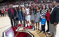 Stanford's Chiney Ogwumike, after Stanford women's basketball  vs Washington State at Maples Pavilion, Stanford, California on March 1, 2014.