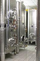 stainless steel tanks dom paul zinck eguisheim alsace france