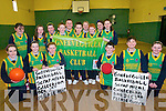 Gneeveguilla Basketball club are holding a scrap metal fund-raiser on December 3rd at Dillane's Garage from 8am -2pm. .Front L-R Rachael McGuillicuddy, Shona Gleeson, Kerry Ann Murphy, Daniel Fleming, Fabian Heridzik and Martha O'Connor .Back L-R Cheala Murphy, Amy Flynn, Michelle O'Sullivan, Jack Cremin, Padraig Dillane, Maura Amy O'Connor, Brian Brosnan, Florence Donnelly and Aileen O'Halloran.