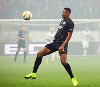 Sebastien Haller (Eintracht Frankfurt) - 25.10.2018: Eintracht Frankfurt vs. Apollon Limassol FC, Commerzbank Arena, Europa League 3. Spieltag, DISCLAIMER: DFL regulations prohibit any use of photographs as image sequences and/or quasi-video.