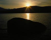 Sunset on Lake McDonald,GLACIER NATIONAL PARK, Montana