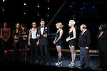 R. Lowe, Amy Spanger, Amra-Faye Wright, Cory English, Carol Woods & Company with Billy Ray Cyrus making his Broadway Debut Curtain Call  in 'Chicago' at the Ambassador Theatre in New York City on 11/05/2012