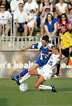 4 July 2003: Birgit Prinz (9) and Nancy Augustyniak (25). The Carolina Courage defeated the Atlanta Beat 3-2 at SAS Stadium in Cary, NC in a regular season WUSA game.