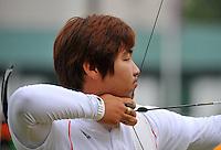 Dong Hyun IM - 27.07.2012 - Tir a l'Arc - Epreuve individuelle hommes - Tour de classement - Jeux Olympiques Londres 2012....Photo : Dave Winter / Icon Sport